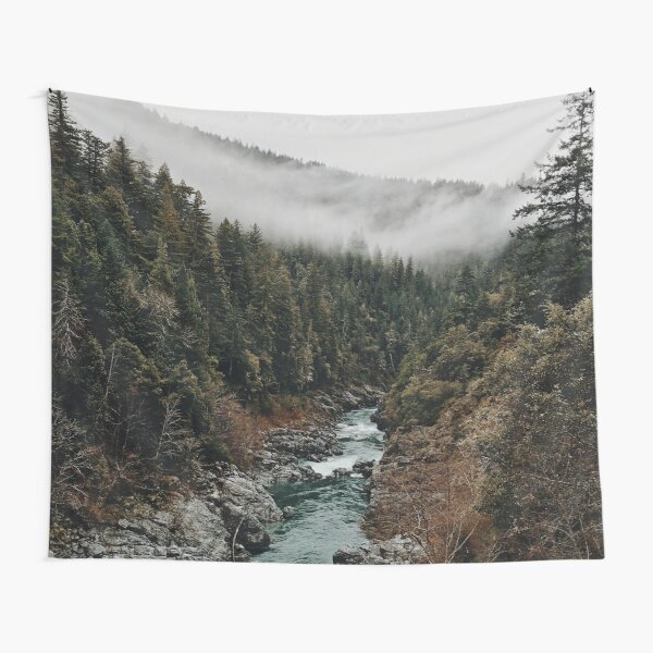 River in the Forest Tapestry