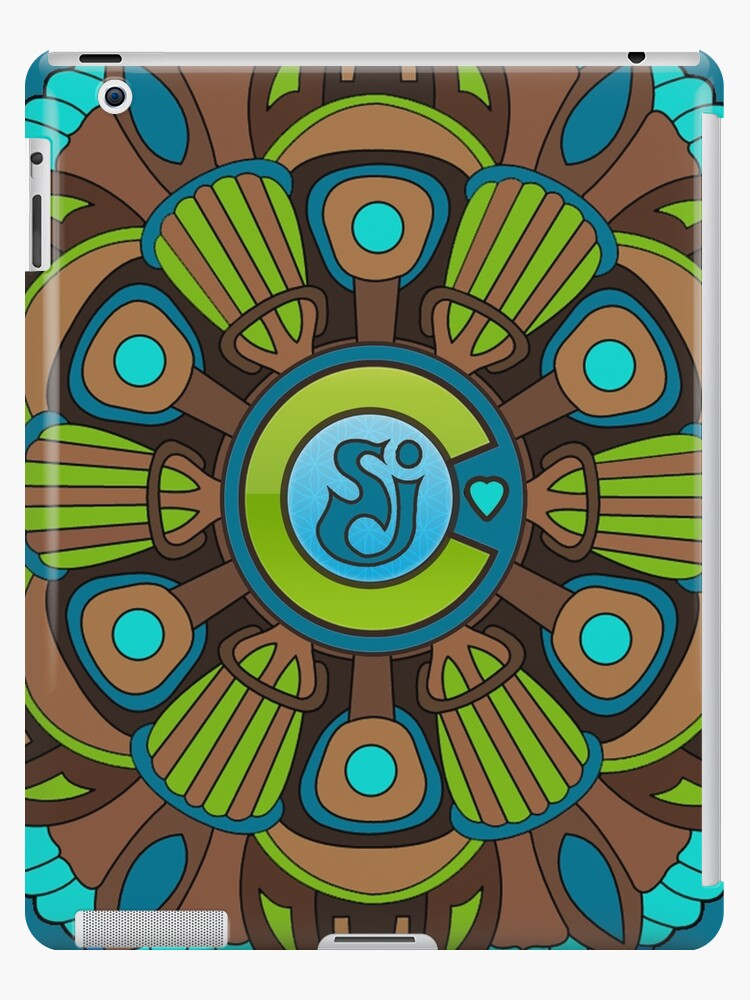 'String Cheese Incident Colorado Love Flower of Life Sacred Geometry  Mandala' iPad Case/Skin by rickitywrecked