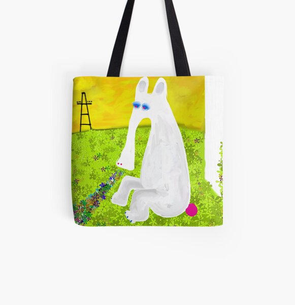 Anteater In Love All Over Print Tote Bag