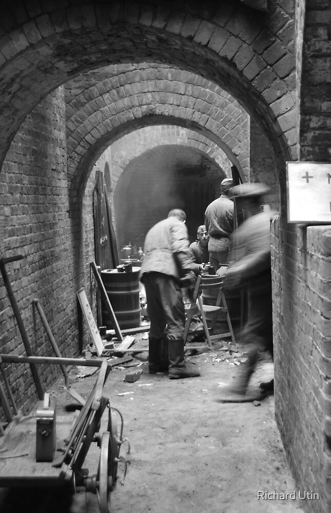 Tunnels underground. by Richard Utin