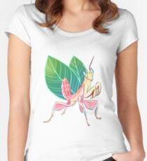 Orchid Mantis is a fairy Women's Fitted Scoop T-Shirt