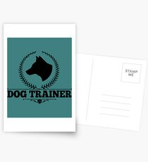 Hundetrainer Postkarten