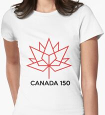 CANADA150 Womens Fitted T-Shirt