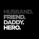 Ehemann-Freund-Vati-Held verblassen von vomaria