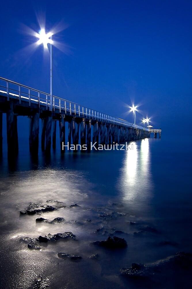 0683 Pier at night - Pt Lonsdale by Hans Kawitzki