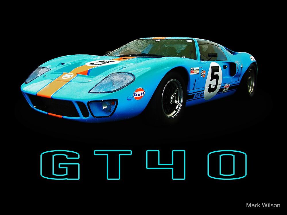 GT40 - Le Mans by Mark Wilson