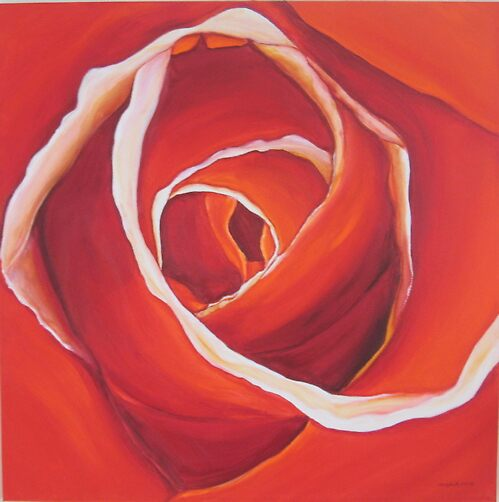 Not just a rose© by Olga van Dijk