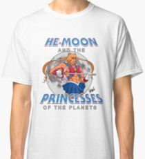 He Moon and the Princesses of the Planets Classic T-Shirt