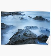 0700 Silky Sea  Poster