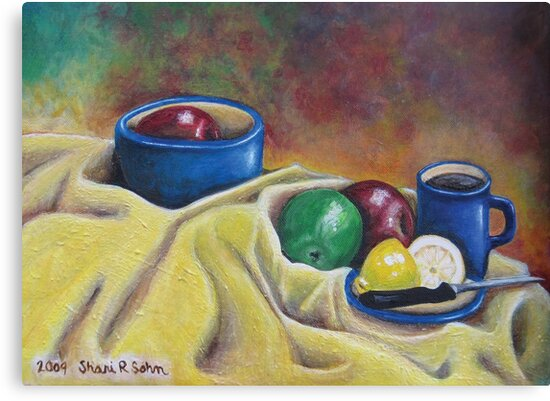 Fruit and Coffee by Shani Sohn