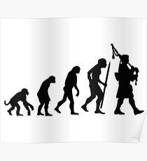 Evolution Pipebag Poster
