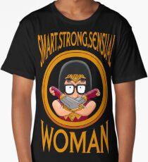 Smart Strong Sensual Woman Long T-Shirt
