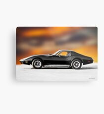 1972 Corvette 454 Stingray II Metal Print