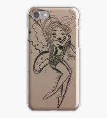 A sleeping fairy girl iPhone Case/Skin