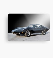 1972 Corvette 454 Stingray IV Metal Print