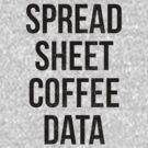 Spreadsheet Coffee Data by Curtis Cunningham