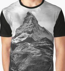 Black & White Mountains Graphic T-Shirt