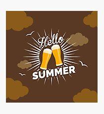 Hello Summer Photographic Print