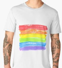 LGBT parade flag, gay pride symbol Men's Premium T-Shirt
