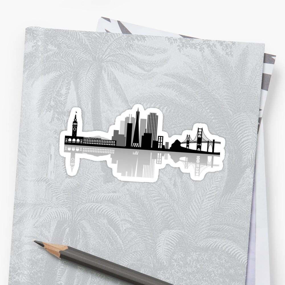 San Francisco Bay skyline  by Drielmans