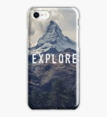 Explore iPhone Case/Skin