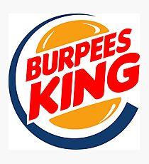 Burpees king Photographic Print