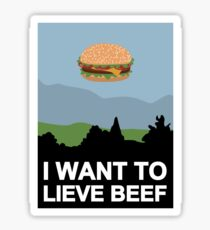 I want to lieve beef Sticker