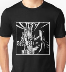 I AM HERE - AllMight (My Hero Academia) Unisex T-Shirt