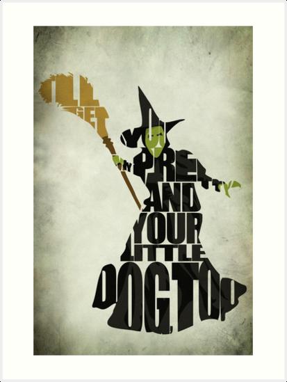 Wicked Witch Of The West by A Deniz Akerman