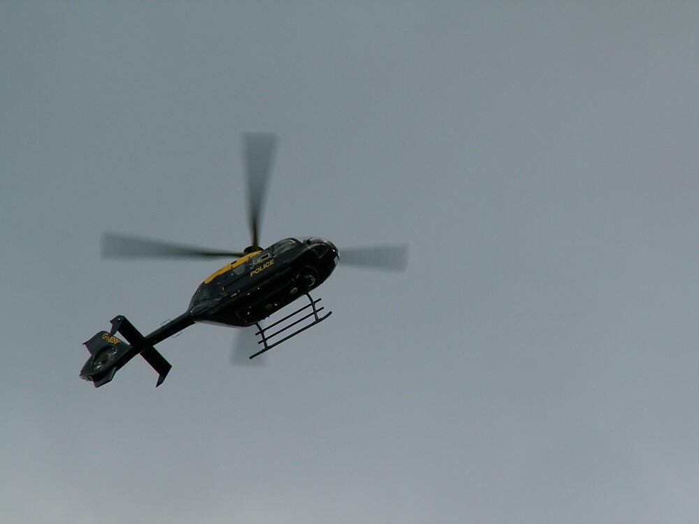 POLICE HELLICOPTER by john147