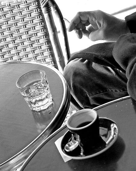 Paris Cafe by Victor Pugatschew