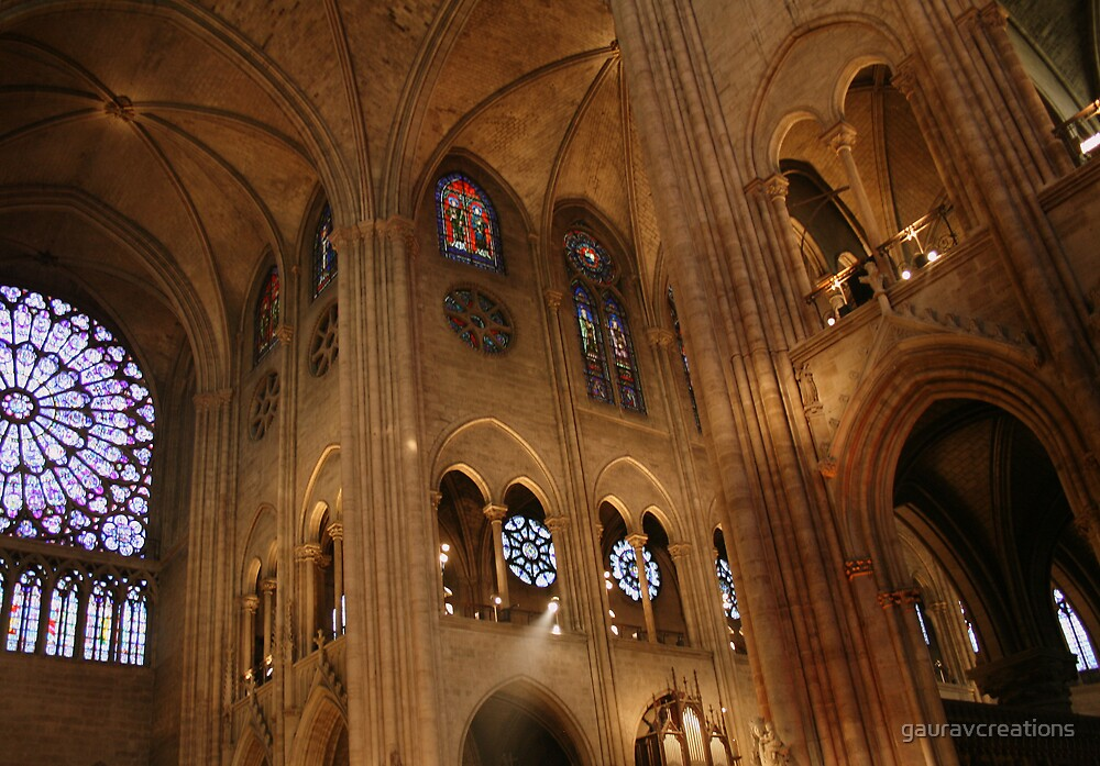 Notre Dame Cathedral by Gaurav Dhup