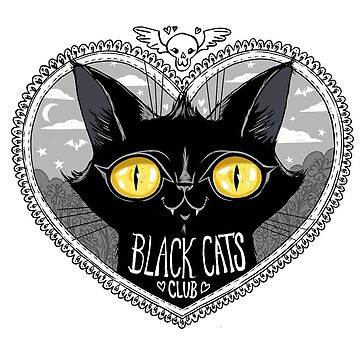 Black Cats Club by blacklilypie