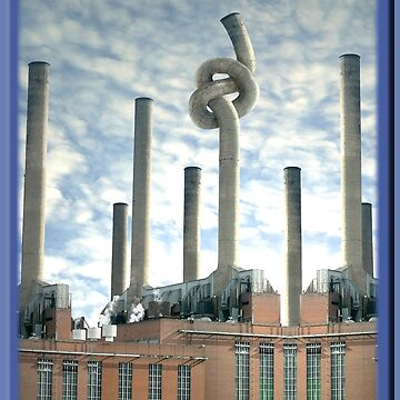 Industrial Brezel  by CrismanArt