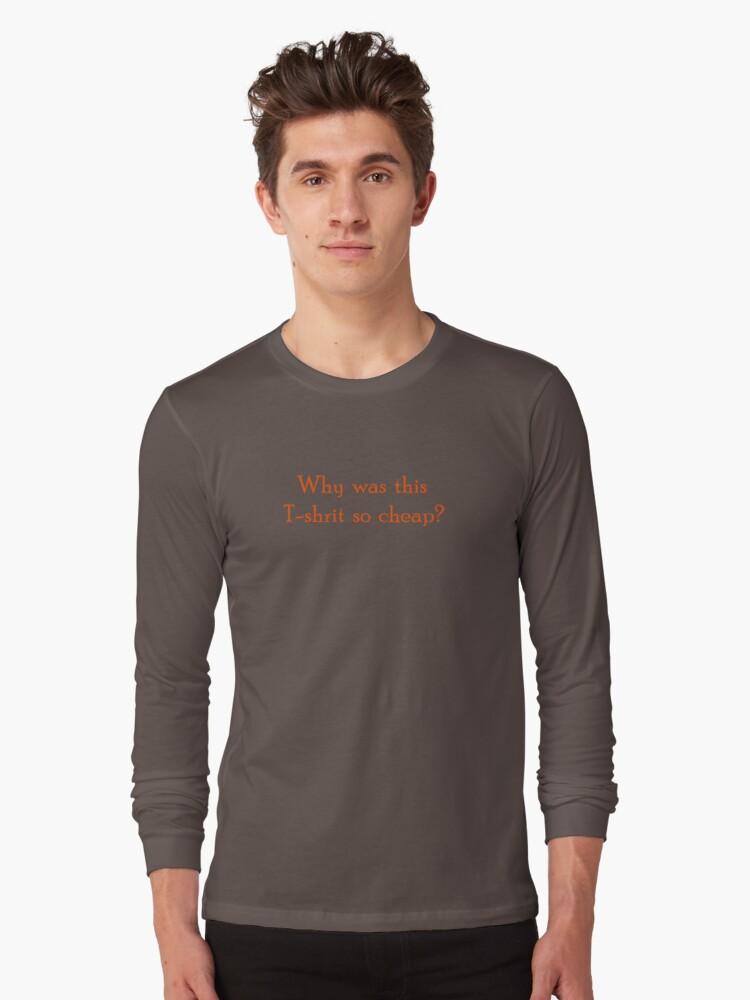 « Cheap T-shirt » par retsilla