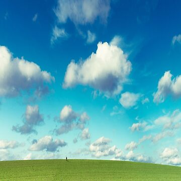 Infinity - Green Land and Summer Sky by DyrkWyst