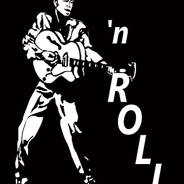 ROCK 'n' ROLL T-SHIRT by parko