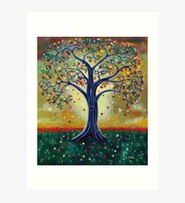 'The Giving Tree' (Dedicated to Shel Silverstein) Art Print