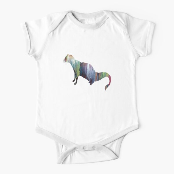 Mongoose  Short Sleeve Baby One-Piece