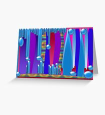 Abstract for Butch Greeting Card