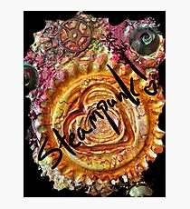 STEAMPUNK LOVE HEART Photographic Print