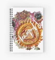 STEAMPUNK LOVE HEART Spiral Notebook