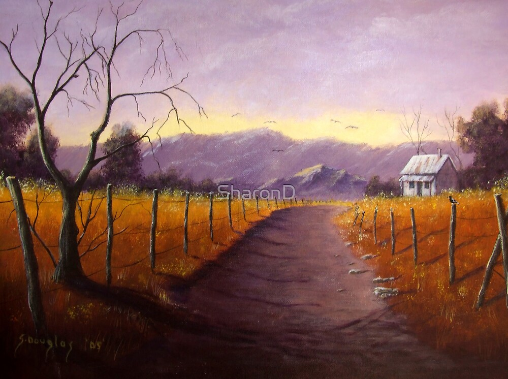 Evening Light-Painting by SharonD