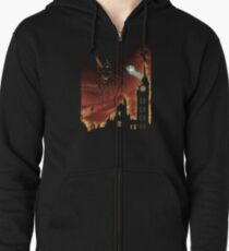 War of the Worlds Zipped Hoodie