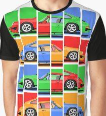 911 Vintage Classic Car Graphic T-Shirt
