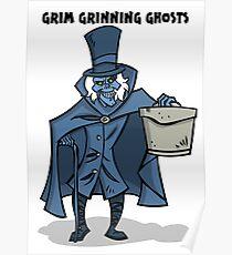 Grim Grinning Ghosts Poster
