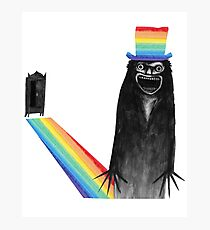 Babadook (pride month) Photographic Print