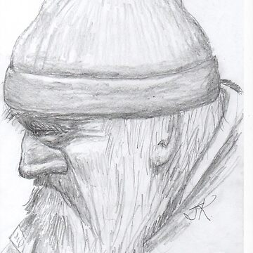 wise old man by OutlawArt