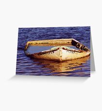 Waterline Greeting Card