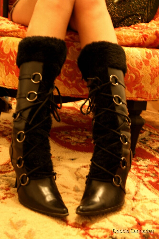These boots.. by Debbie Cannaday